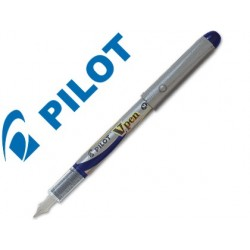 PLUMA PILOT V PEN SILVER...
